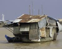 Villaggio flottante di Chong  Kneas sul Lago Tonle Sap Cambogia / Foto n. 0025