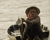 Villaggio flottante di Chong  Kneas sul Lago Tonle Sap Cambogia / Foto n. 0109