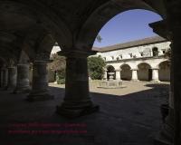Chiesa e Convento delle Cappuccine in Antigua Guatemala-Patio principale Foto N. IMG9805