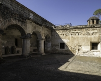 Chiesa e Convento delle Cappuccine in Antigua Guatemala - patio secondario Foto N. IMG9823