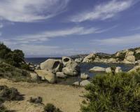 Reportage Costa Nord Sardegna Spiaggia delle piscine Foto n. POA9105