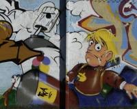 Graffiti multicolori Roma / Foto n. 0315