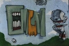 Graffiti a Roma 2005