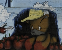 Graffiti multicolori Roma / Foto n. 0322