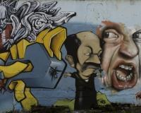 Graffiti multicolori Roma / Foto n. 0446