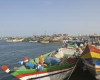 Barche di pescatori al porto di Al Hodeidah Yemen / Foto n. 0010