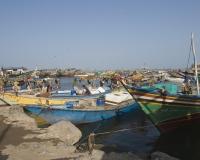 Barche di pescatori al porto di Al Hodeidah Yemen / Foto n. 0026