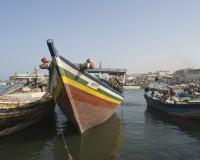 Barche di pescatori al porto di Al Hodeidah Yemen / Foto n. 0030