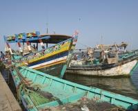 Barche di pescatori al porto di Al Hodeidah Yemen / Foto n. 0047