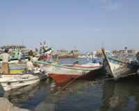 Barche di pescatori al porto di Al Hodeidah Yemen / Foto n. 0005