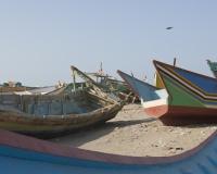 Barche di pescatori al porto di Al Hodeidah Yemen / Foto n. 0064