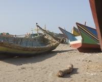 Barche di pescatori al porto di Al Hodeidah Yemen / Foto n. 0065