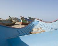 Barche di pescatori al porto di Al Hodeidah Yemen / Foto n. 0066