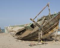 Barche di pescatori al porto di Al Hodeidah Yemen / Foto n. 0079