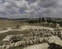 Piazza Ovale Jerash Foto N. Y3A7289