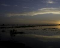 Pinassa in navigazione a Djenne / Foto n. 0429