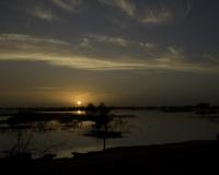 Pinassa in navigazione a Djenne / Foto n. 0434