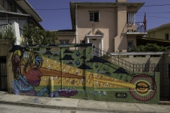 Murales Valparaiso Cile 2015