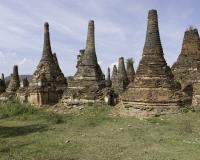 Sagar sito archeologico sulle sponde del Lago Inle Foto n. AOK8343