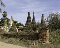 Sagar sito archeologico sulle sponde del Lago Inle Foto n. AOK8350