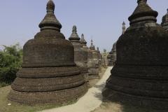 Sito archeologico di Mrauk U in Myanmar 2012