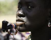 Area ricerca oro vicino Napetet - Kapoeta- Sud Sudan Foto POA1040